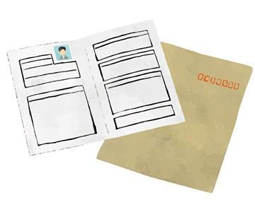 履歴書作成のイメージ画像