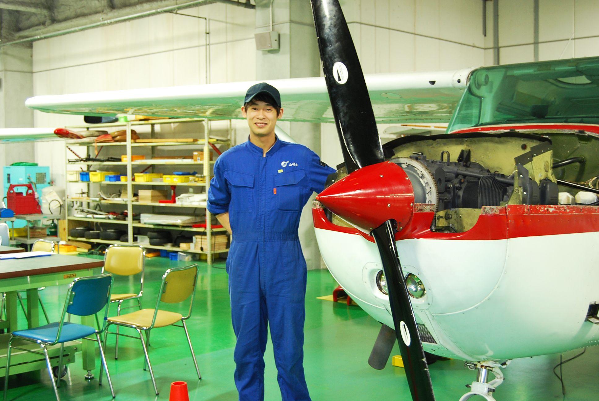 航空整備士学科の紹介画像