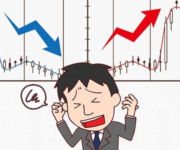 株価が上下して景気の先行きが見えないので、就職活動に躊躇しますのアイキャッチ画像